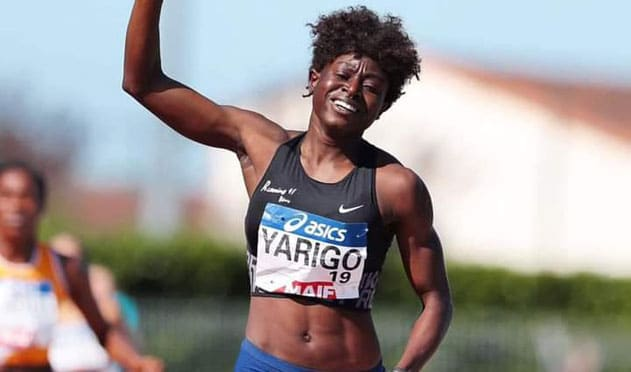 L'athlète Noélie Yarigo, championne de France