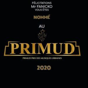 Fanicko nominé au PRIMUD 2020