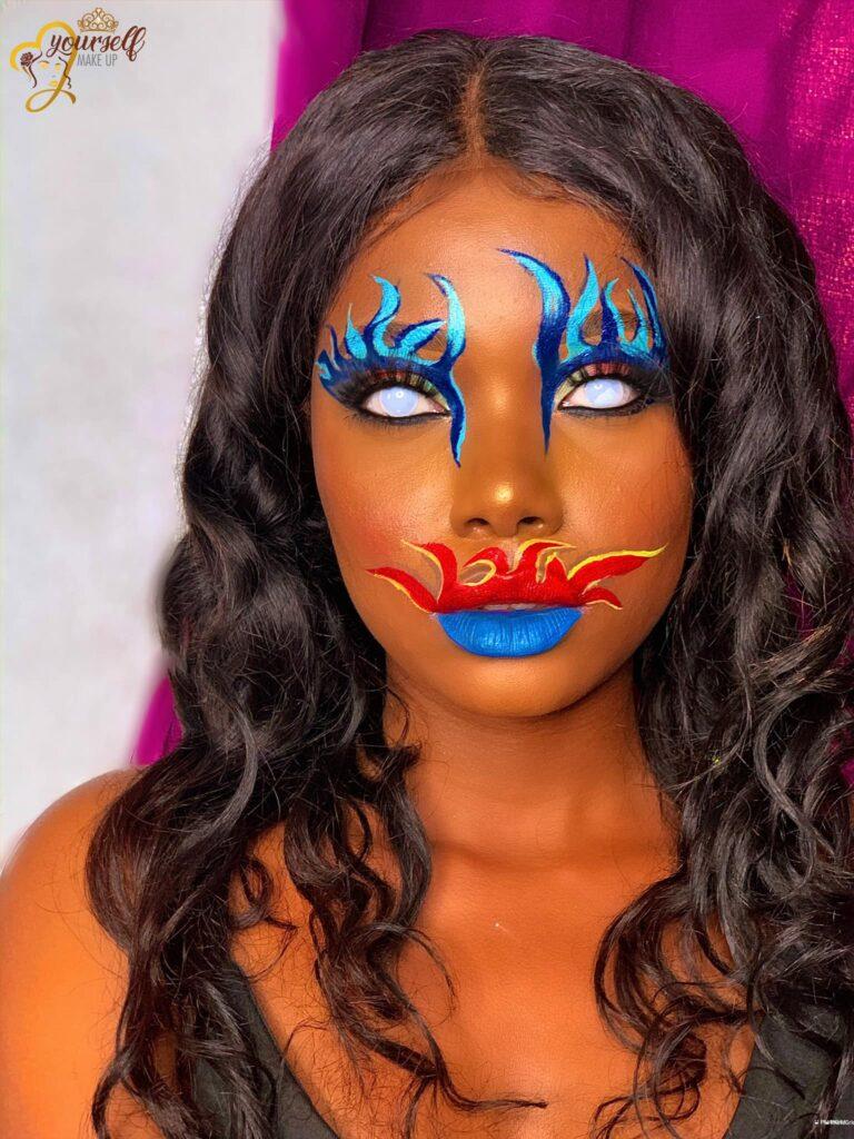 Ménadèle, une maquilleuse Béninoise
