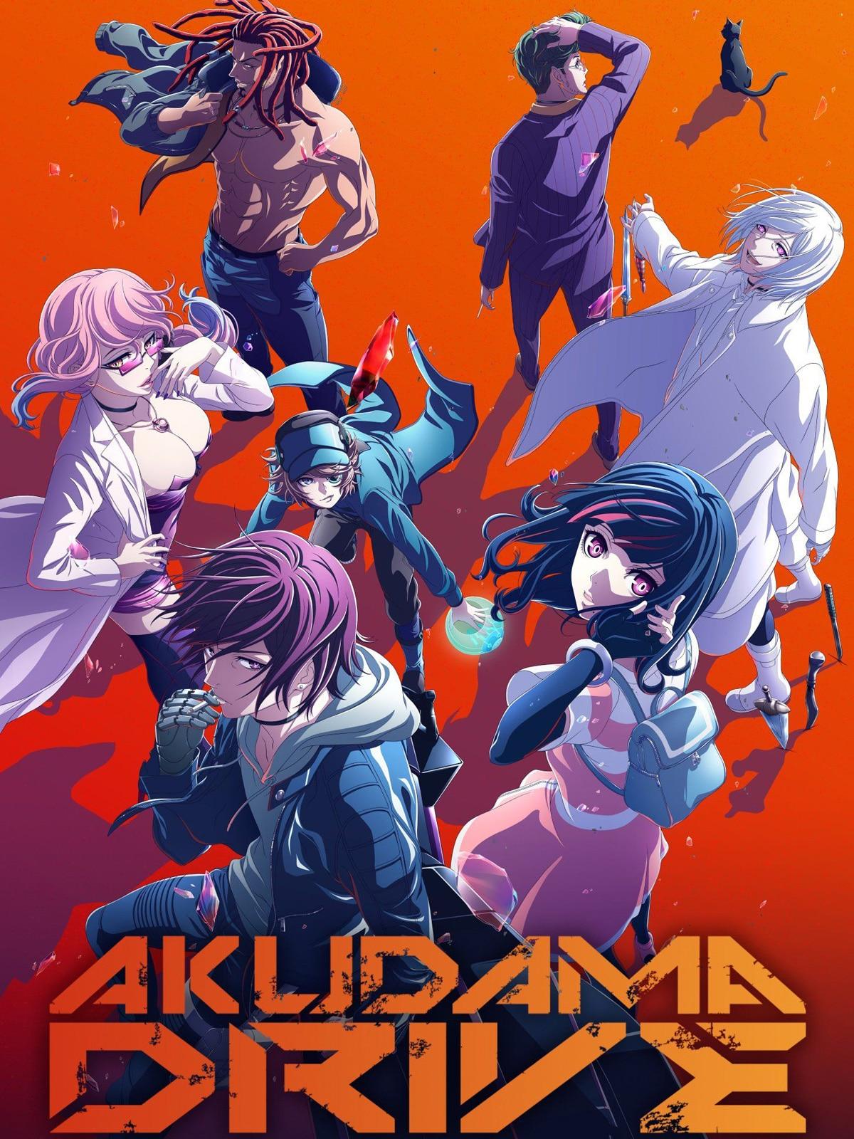 Affiche de l'anime Akudama Drive