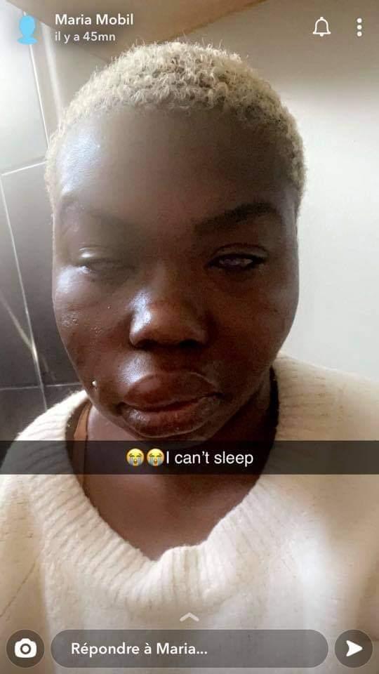 Maria Mobil aurait été victime d'une agression par un gang